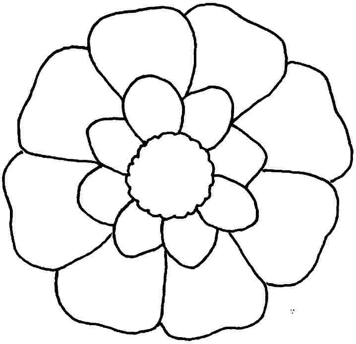 little flower coloring pages - photo#29