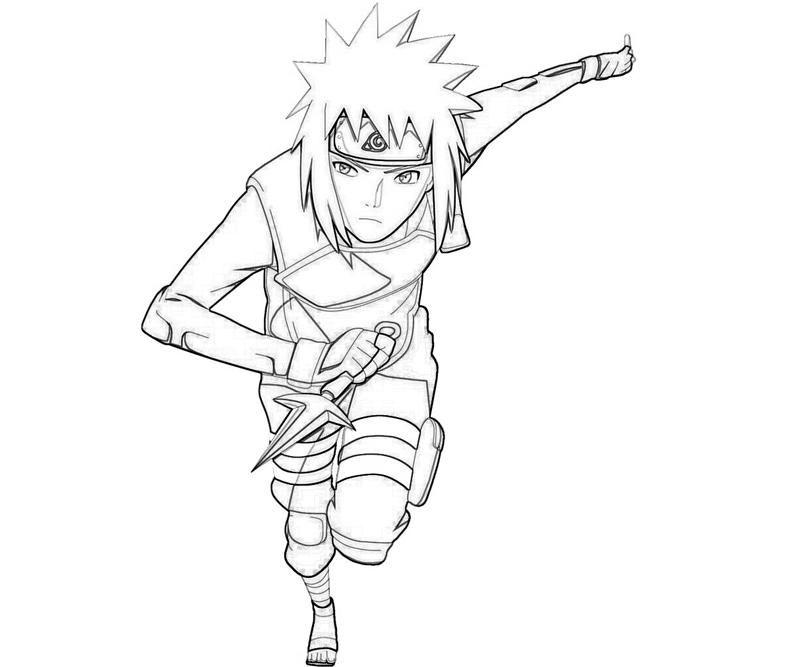 Naruto Minato And Attack
