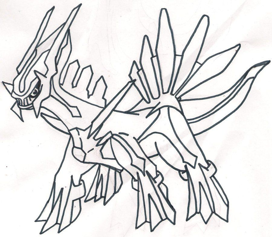 Dialga coloring pages coloring home for Dialga coloring pages
