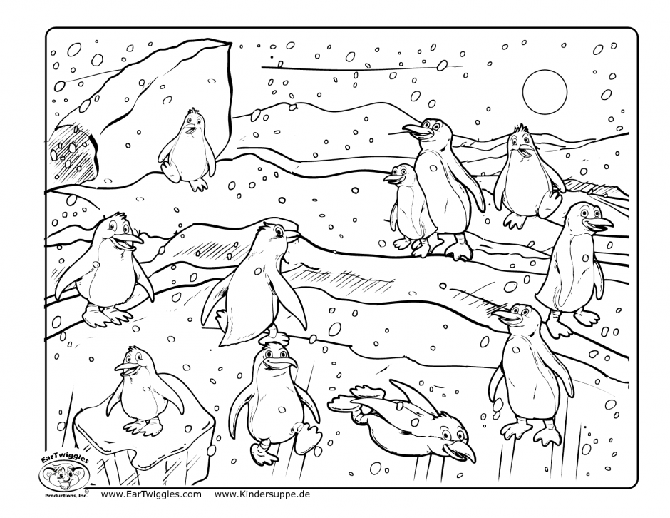 Tacky The Penguin Coloring Pages Coloring Home