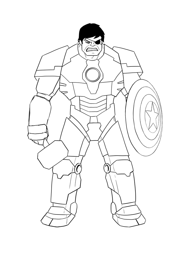 Hulk Face Line Drawing : Hulk pictures to draw coloring home