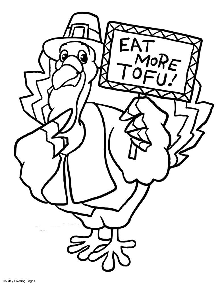 partner turkeys Colouring Pages