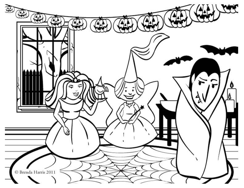 printable october coloring pages - October Coloring