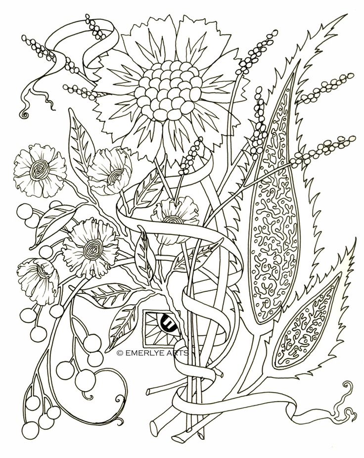 Adult Coloring Page Az Coloring Pages Colouring In Pages For Adults
