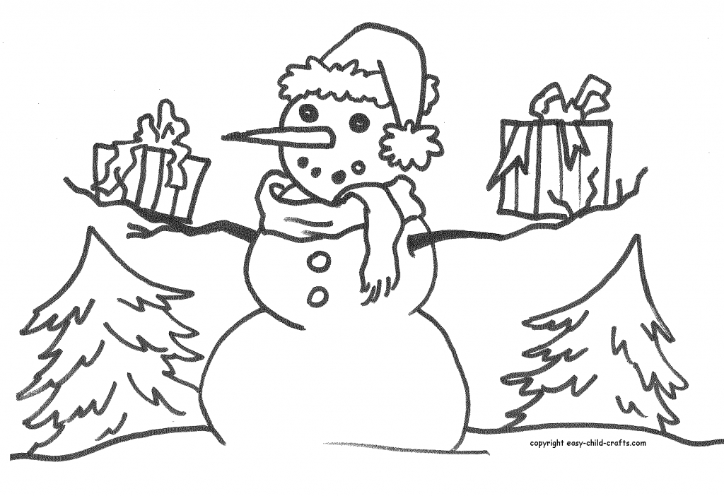 Free Coloring Pages Of Christmas Recycling