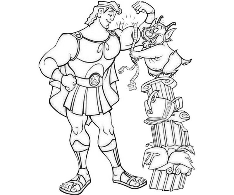Free Printable Hercules Coloring Pages For Kids - Coloring Home