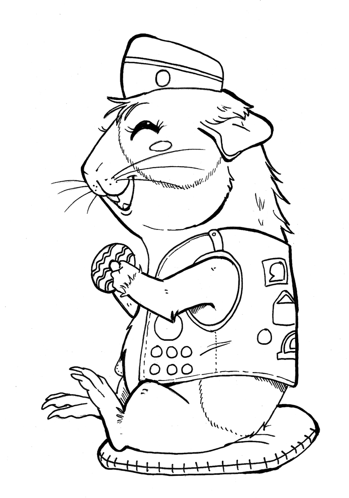 girl scout cookies coloring pages - photo#13