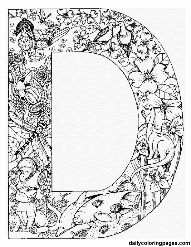 Complicated Coloring Pages For Adults Coloring Home Coloring Book Pages For Adults
