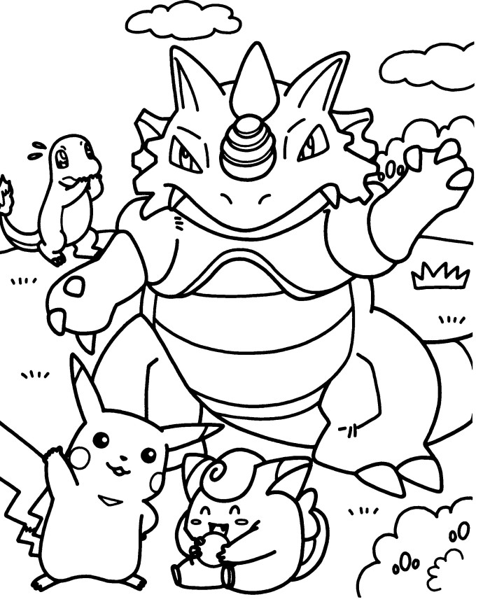 monferno coloring pages - photo#35