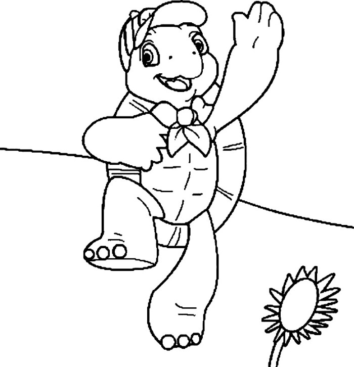 Franklin The Turtle Coloring Pages Az Coloring Pages Franklin The Turtle Coloring Pages