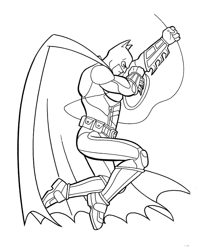 Coloring Pages For Universal Studios : Comic book coloring pages az