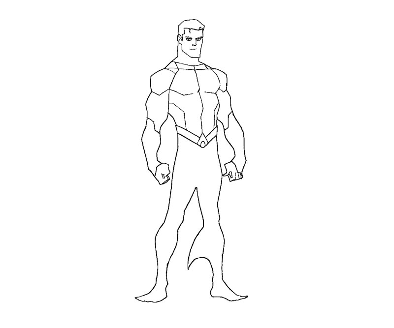 Aquaman Coloring Pages - AZ Coloring Pages