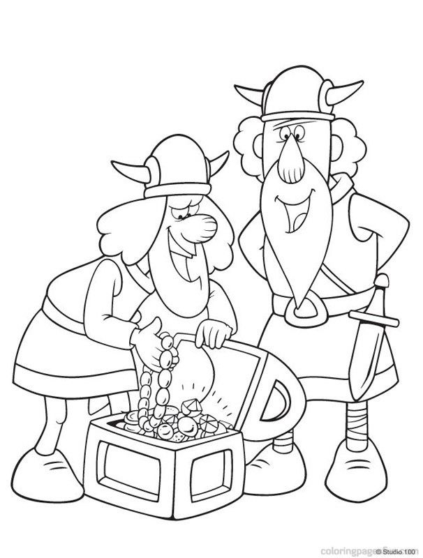 Viking Coloring Pages - Coloring Home