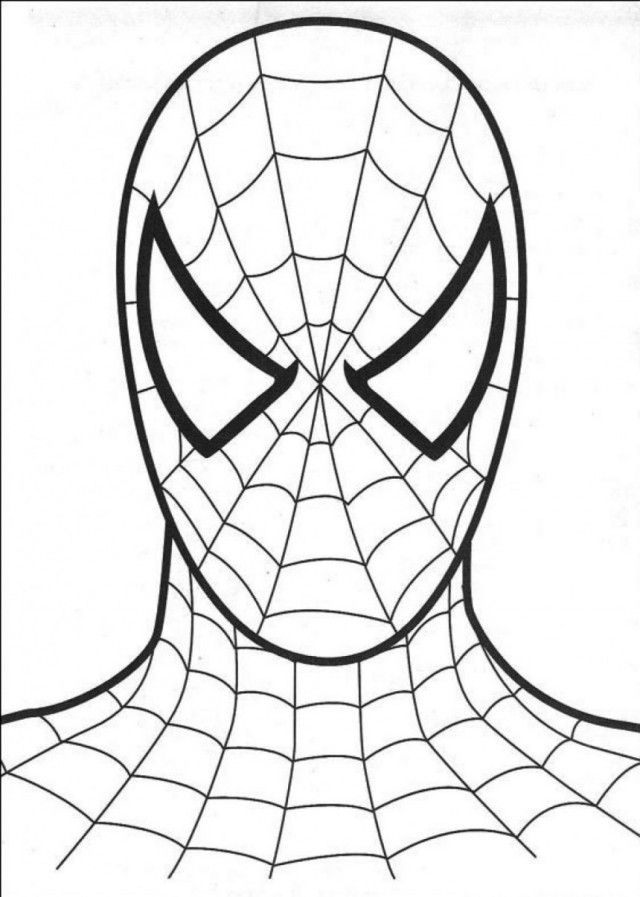 Spiderman Painting Games High Definition 860 1206 Head Of 145806