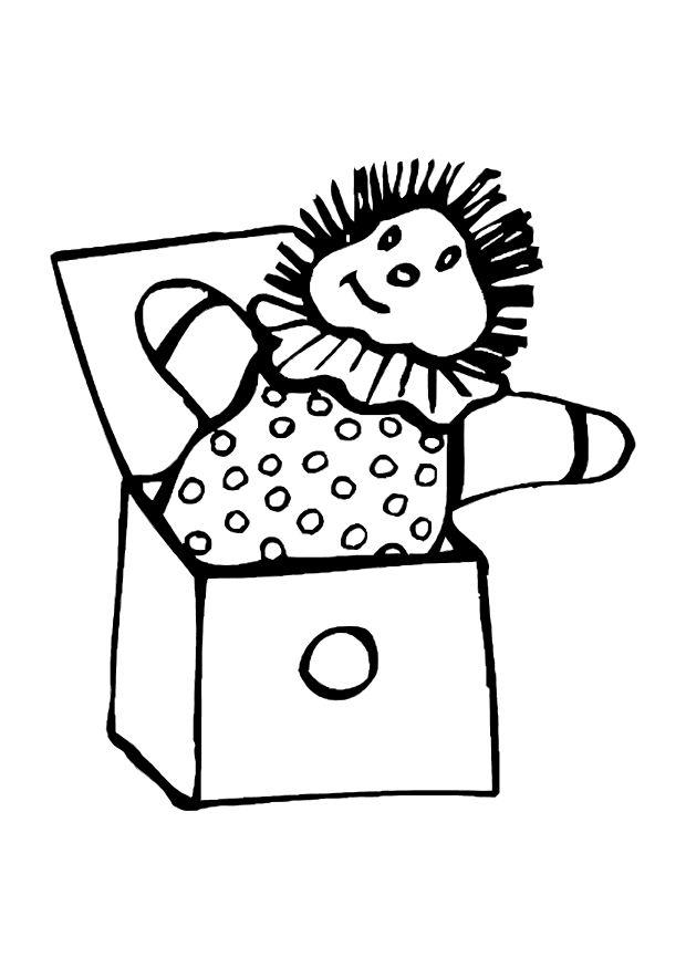 box coloring pages - photo#30