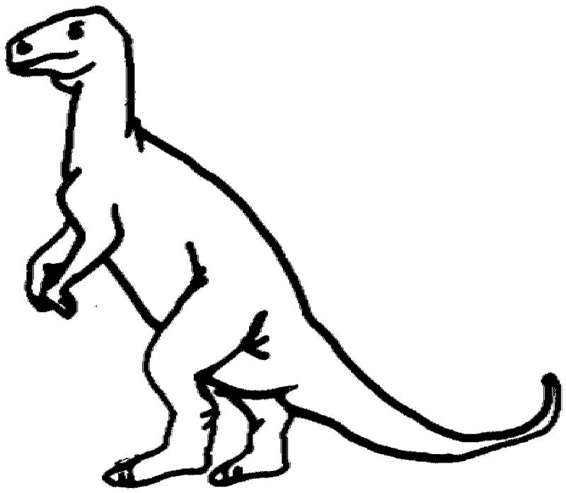 T Rex Dinosaur Coloring Pages Coloring Home