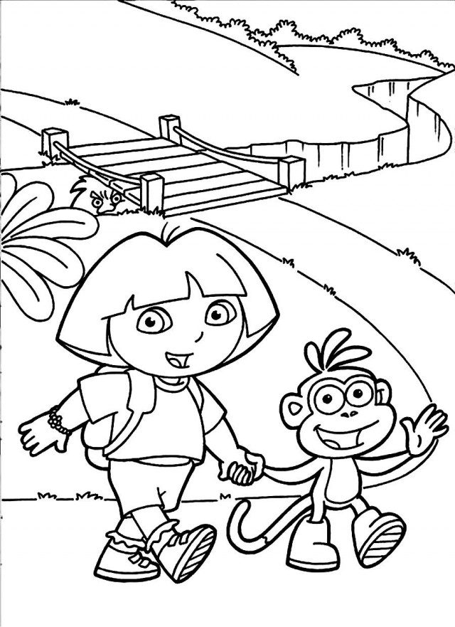Go Diego Go Printable Coloring Pages