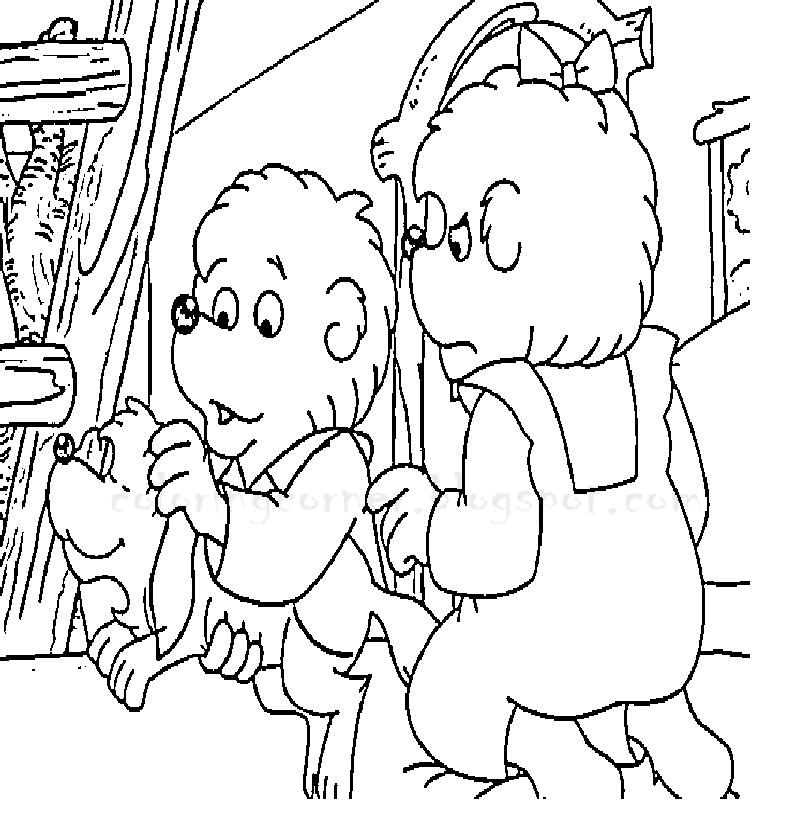 Berenstain Bears Coloring Pages ~ Printable Coloring Pages