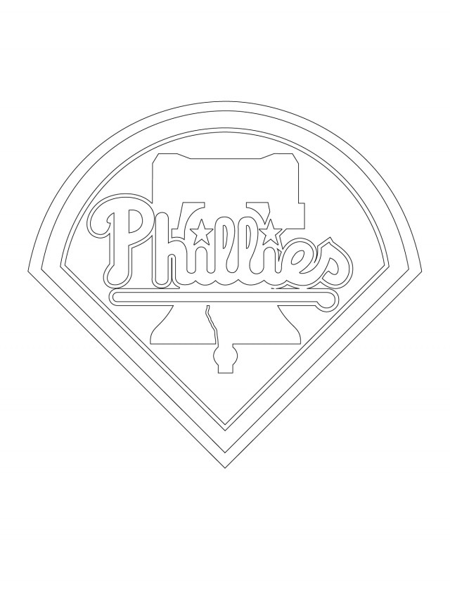 Mlb logo coloring pages az coloring pages for Mlb logo coloring pages