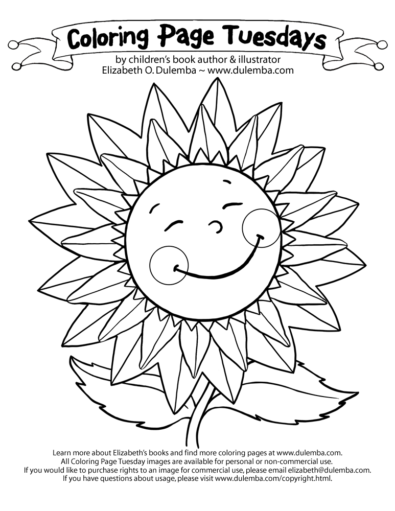 June Printable Coloring Pages Dulemba June 2012