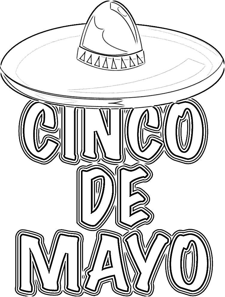 Cinco De Mayo Coloring Pages Coloring. cinco de mayo