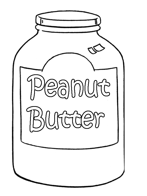 Free coloring pages of peanut drawings to
