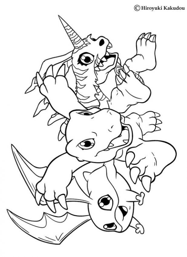 All Digimon Coloring Pages | Coloring Pages For Kids - AZ Coloring ...