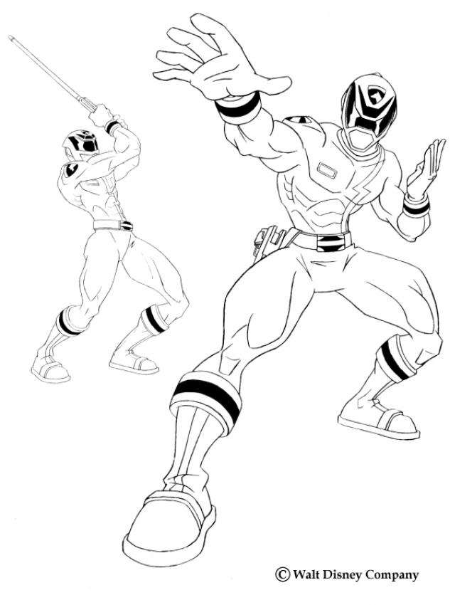 Megazord Coloring Pages Coloring Home