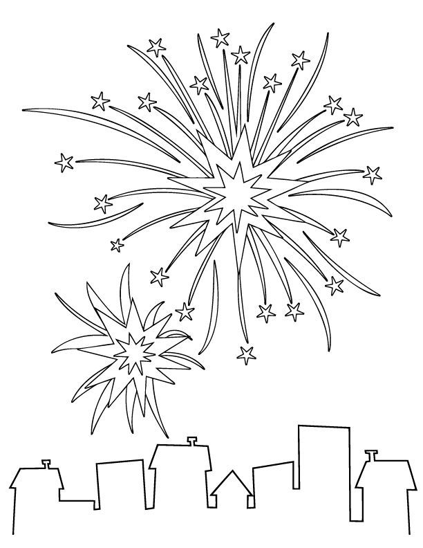 4th Of July Coloring Pages Pdf : Th of july coloring pages az