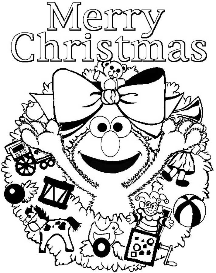 Merry Christmas Coloring Page - AZ Coloring Pages