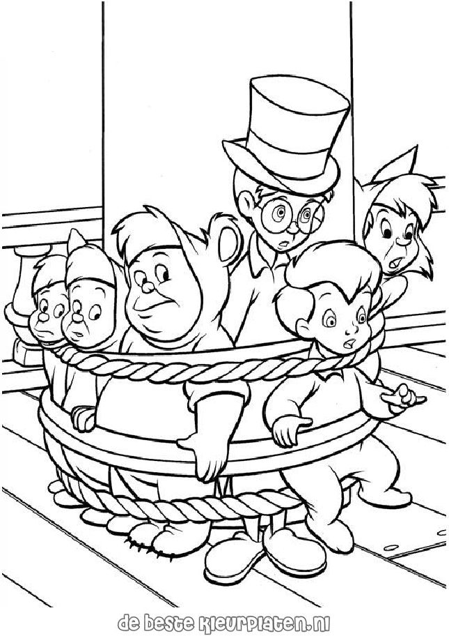 Peter Pan Coloring Az Coloring Pages Pan Lost Boys Coloring Pages