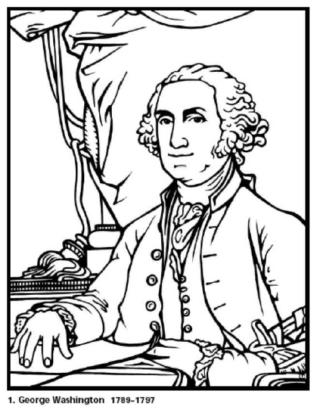 prsidents coloring pages - photo#10