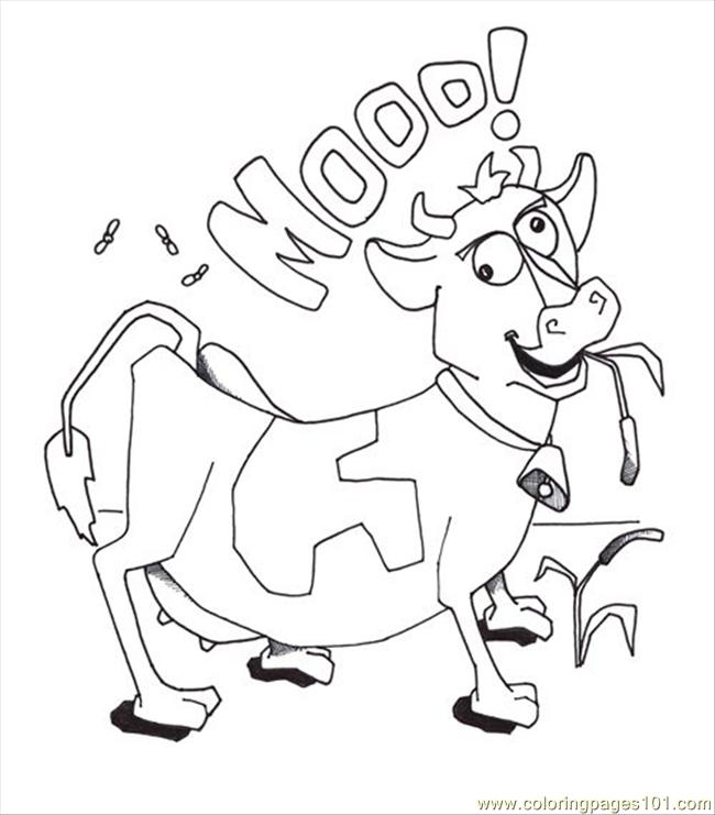 Coloring pages of cows az coloring pages for Coloring pages of cows free printable