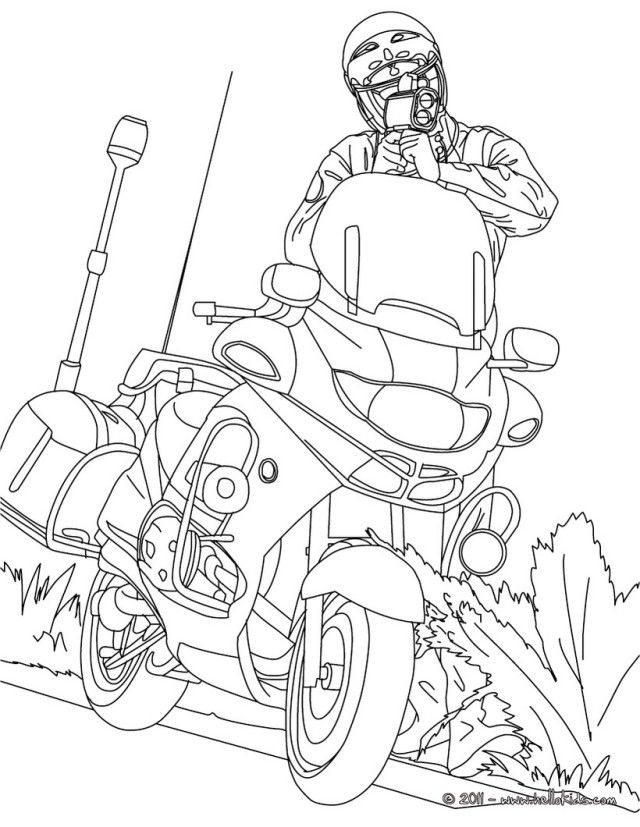 Downloadable Policeman Coloring Pages Hyh El | Laptopezine.