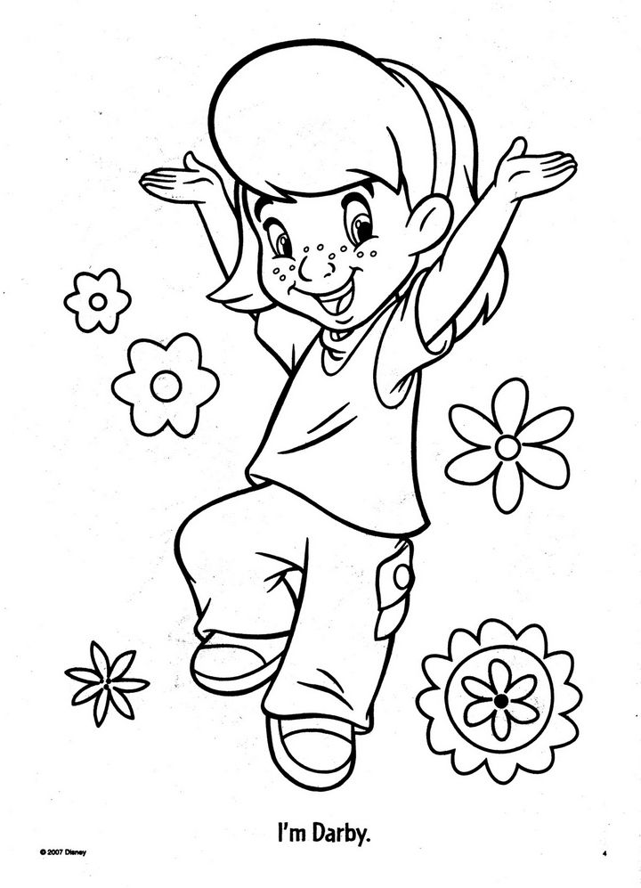 my friends coloring pages - photo#7