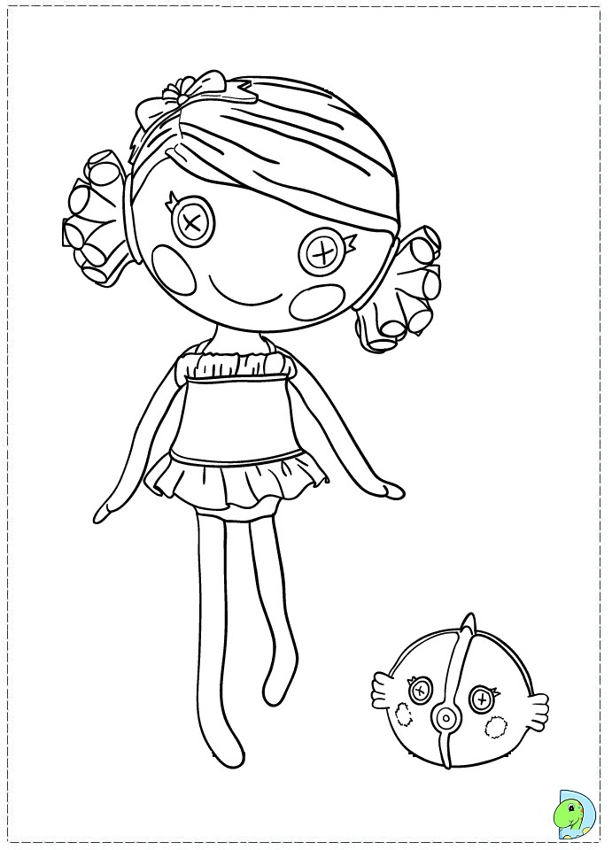 Coloring pages lalaloopsy az coloring pages for Free printable lalaloopsy coloring pages