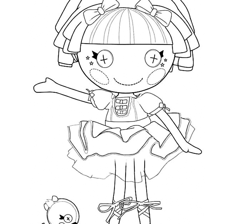 Free Coloring Pages Of Lalaloopsy Boy