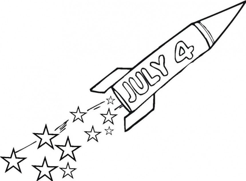 Coloring Pages 4th Of July Printable : Fourth july coloring pages az