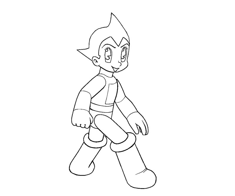 astro boy coloring pages - photo#22