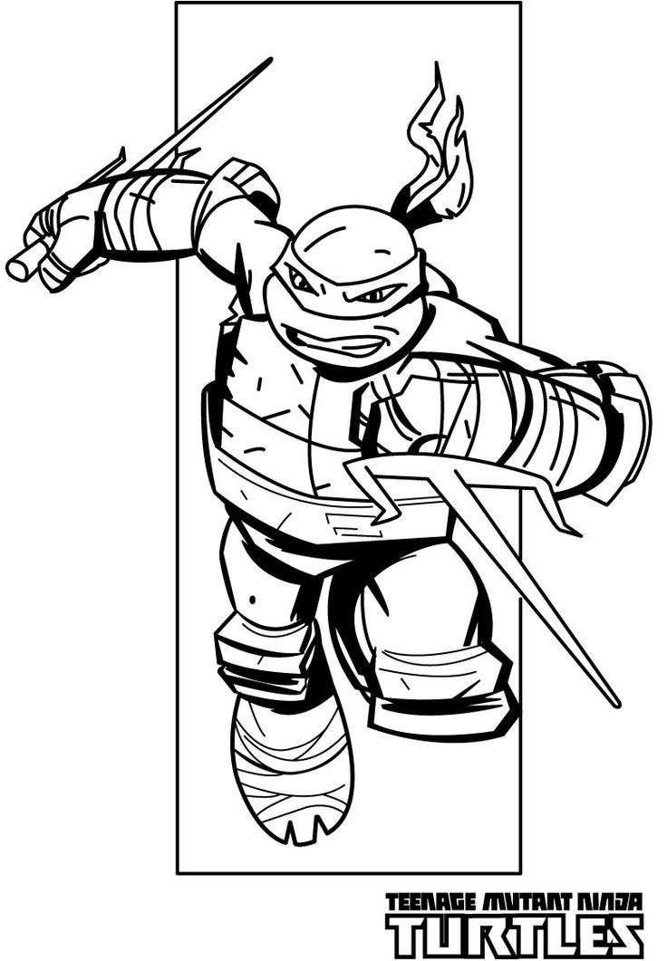 Teenage mutant ninja turtle coloring pages az coloring pages for Teenage mutant ninja turtles coloring pages to print