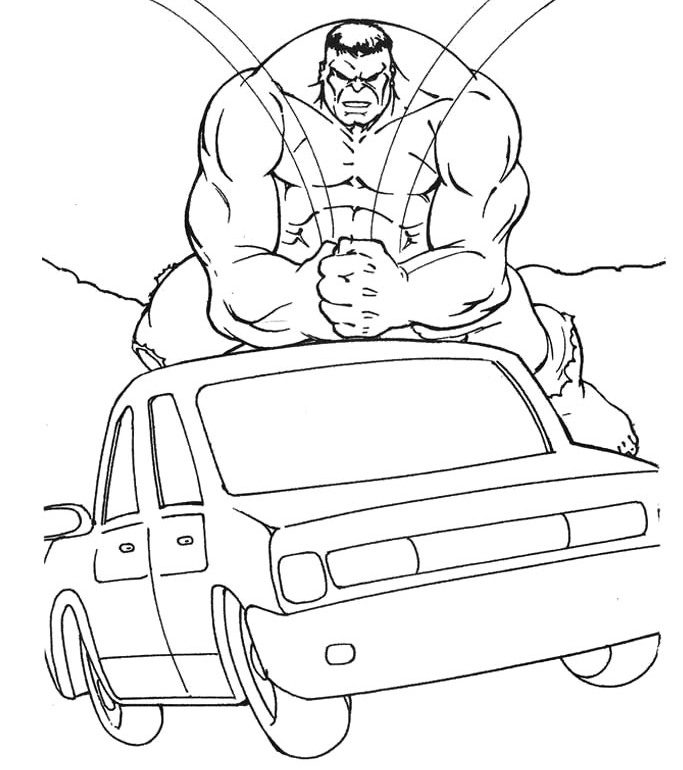 lego red hulk coloring pages - photo #31