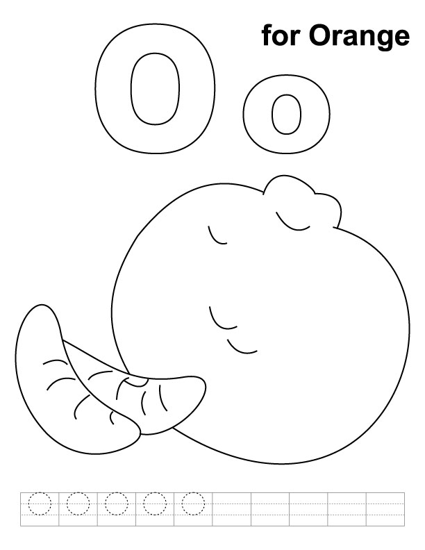 o coloring pages - photo #32
