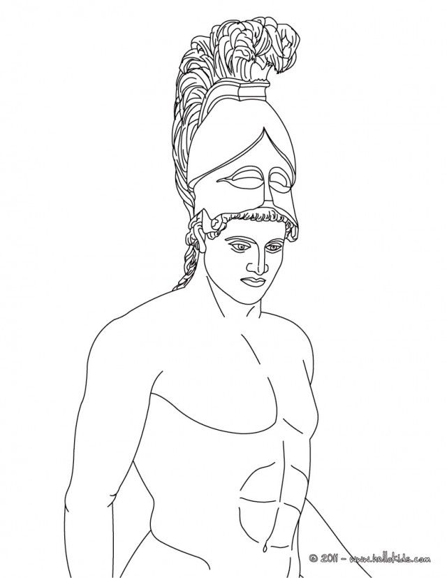 Greek Gods And Goddesses Coloring Pages Coloring Home