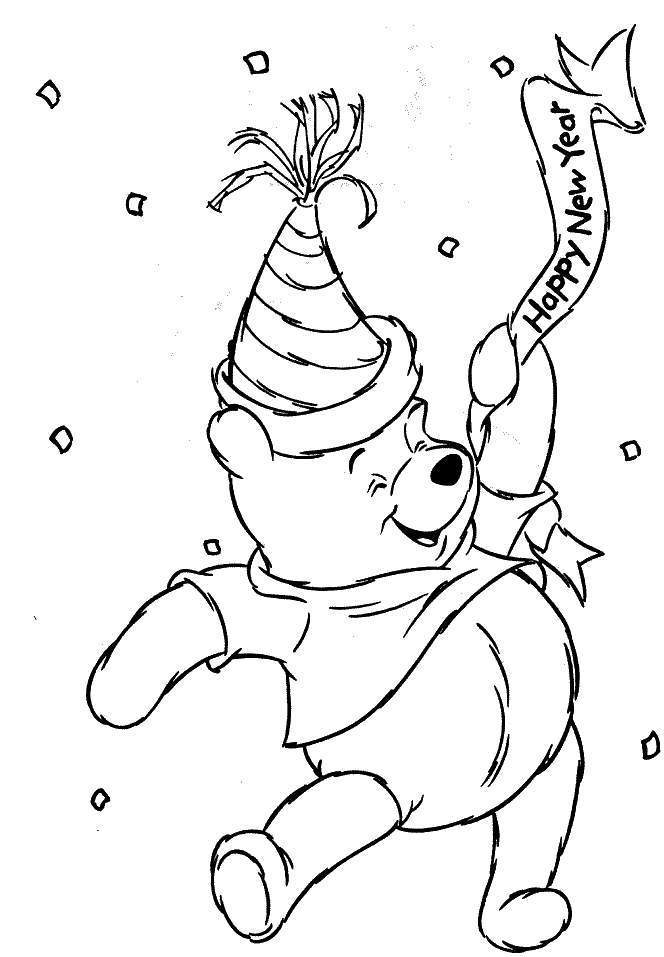 Coloring Pages For The New Year | Top Coloring Pages