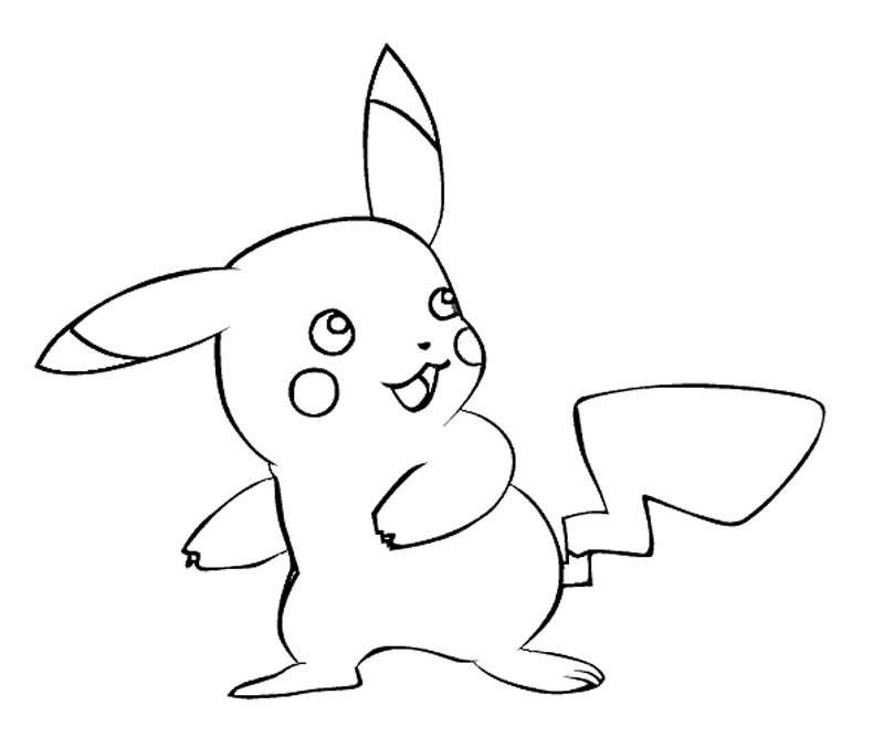 Coloring Pages Pikachu - Coloring Home