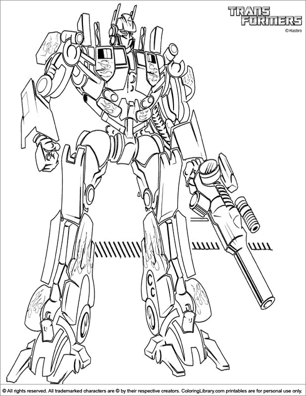 transformers connect the dots coloring pages