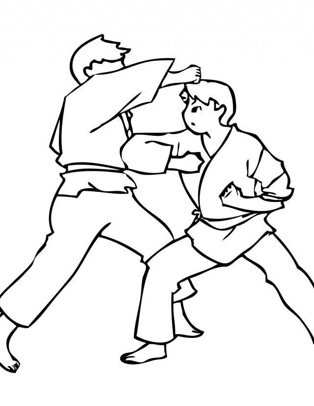 Karate Kid Coloring Pages Movie 200447