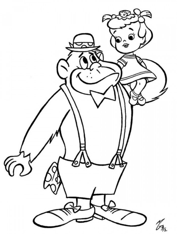 silverback gorilla coloring pages 99coloringcom