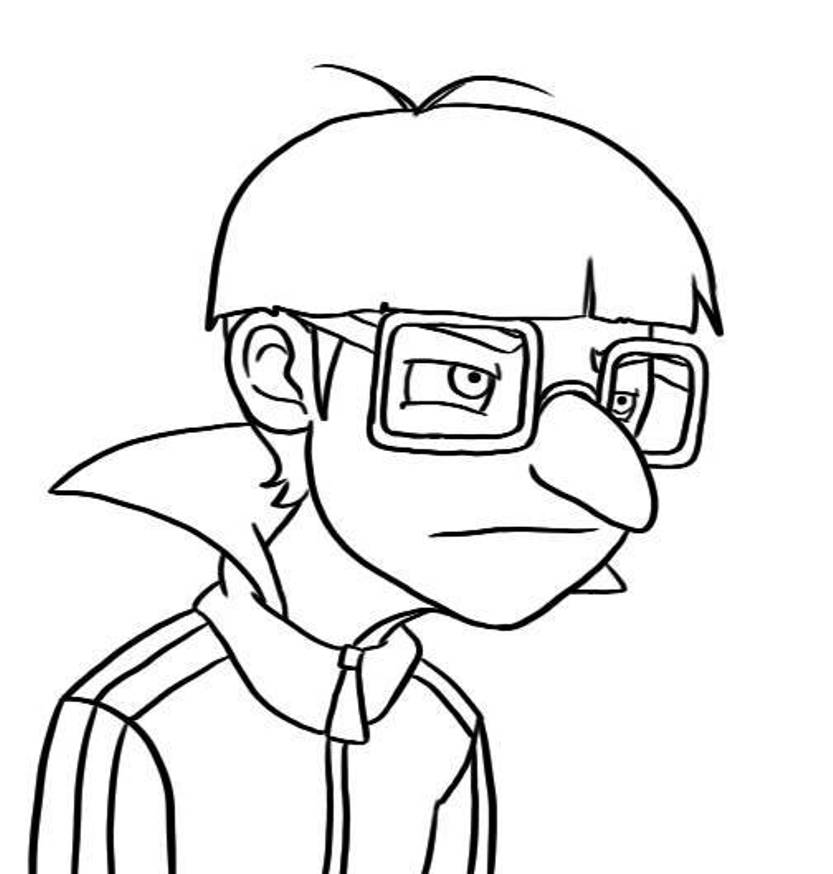 Despicable Me Coloring Pages To