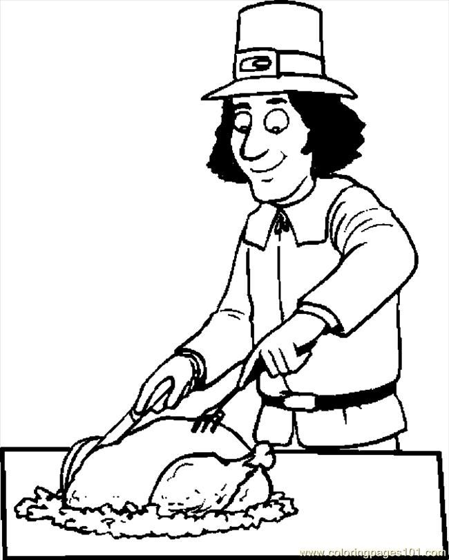 Turkey body outline coloring home for Turkey body outline